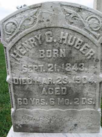 HUBER, HENRY C. - Lehigh County, Pennsylvania   HENRY C. HUBER - Pennsylvania Gravestone Photos