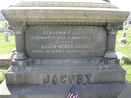 JACOBY, ELLEN - Lehigh County, Pennsylvania | ELLEN JACOBY - Pennsylvania Gravestone Photos