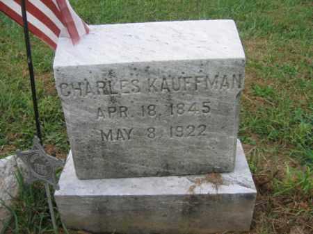 KAUFFMAN, CHARLES - Lehigh County, Pennsylvania | CHARLES KAUFFMAN - Pennsylvania Gravestone Photos