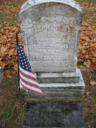 KEIPER (CW), JOSEPH - Lehigh County, Pennsylvania | JOSEPH KEIPER (CW) - Pennsylvania Gravestone Photos