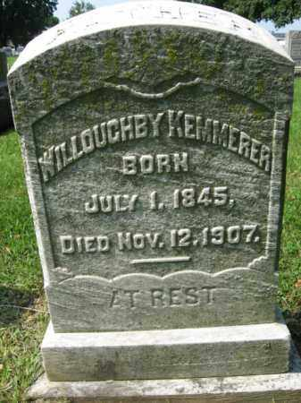 KEMMERER, WILLOUGHBY - Lehigh County, Pennsylvania | WILLOUGHBY KEMMERER - Pennsylvania Gravestone Photos