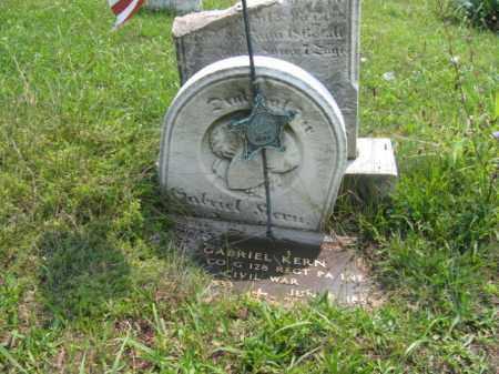 KERN  (CW), GABRIEL - Lehigh County, Pennsylvania   GABRIEL KERN  (CW) - Pennsylvania Gravestone Photos