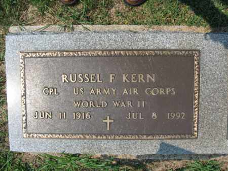 KERN, RUSSEL   F. - Lehigh County, Pennsylvania | RUSSEL   F. KERN - Pennsylvania Gravestone Photos