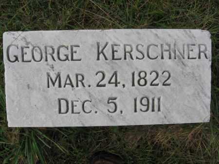 KERSCHNER, GEORGE - Lehigh County, Pennsylvania | GEORGE KERSCHNER - Pennsylvania Gravestone Photos