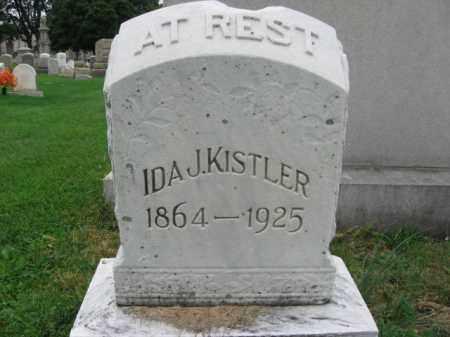 KISTLER, IDA J. - Lehigh County, Pennsylvania | IDA J. KISTLER - Pennsylvania Gravestone Photos