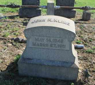 KLINE (CW), JOHN N. - Lehigh County, Pennsylvania | JOHN N. KLINE (CW) - Pennsylvania Gravestone Photos