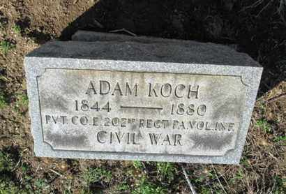 KOCH (CW), ADAM - Lehigh County, Pennsylvania   ADAM KOCH (CW) - Pennsylvania Gravestone Photos