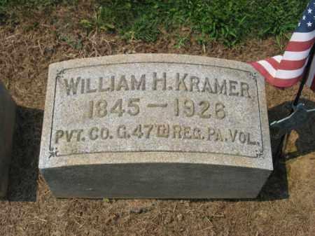 KRAMER, WILLIAM H. - Lehigh County, Pennsylvania | WILLIAM H. KRAMER - Pennsylvania Gravestone Photos