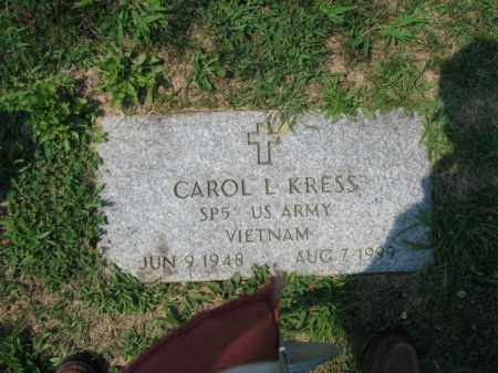 KRESS, CAROL  L. - Lehigh County, Pennsylvania | CAROL  L. KRESS - Pennsylvania Gravestone Photos