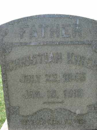 KRIER (WC), CHRISTIAN - Lehigh County, Pennsylvania | CHRISTIAN KRIER (WC) - Pennsylvania Gravestone Photos