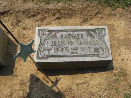 LAWALL (CW), ALLEN D. - Lehigh County, Pennsylvania | ALLEN D. LAWALL (CW) - Pennsylvania Gravestone Photos