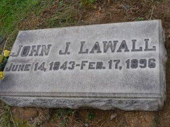 LAWALL (CW), JOHN J. - Lehigh County, Pennsylvania | JOHN J. LAWALL (CW) - Pennsylvania Gravestone Photos