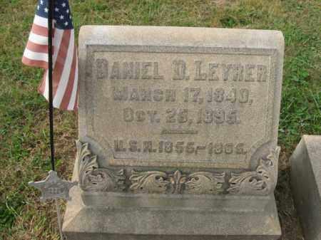 LEYRER, DANIEL D. - Lehigh County, Pennsylvania | DANIEL D. LEYRER - Pennsylvania Gravestone Photos