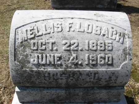 LOBACH, MELLIS F. - Lehigh County, Pennsylvania   MELLIS F. LOBACH - Pennsylvania Gravestone Photos