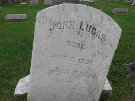 LUCAS, JOHN - Lehigh County, Pennsylvania | JOHN LUCAS - Pennsylvania Gravestone Photos