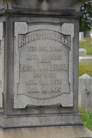YORN MABERRY, ROSA A. - Lehigh County, Pennsylvania | ROSA A. YORN MABERRY - Pennsylvania Gravestone Photos