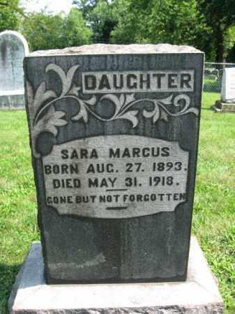 MARCUS, SARA - Lehigh County, Pennsylvania | SARA MARCUS - Pennsylvania Gravestone Photos