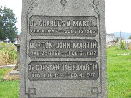 MARTIN, CHARLES D. - Lehigh County, Pennsylvania | CHARLES D. MARTIN - Pennsylvania Gravestone Photos