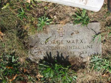 MARX, GEORGE - Lehigh County, Pennsylvania | GEORGE MARX - Pennsylvania Gravestone Photos