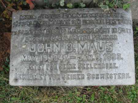 MAUAS, JOHN B. - Lehigh County, Pennsylvania | JOHN B. MAUAS - Pennsylvania Gravestone Photos