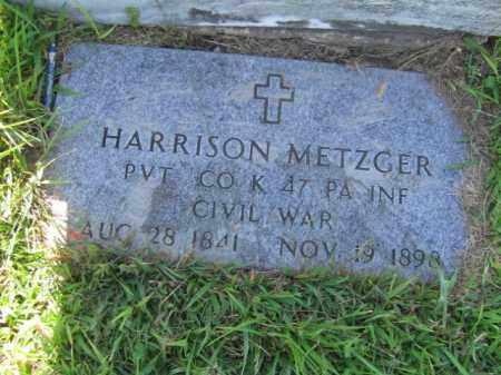 METZGER  (CW), HARRISON - Lehigh County, Pennsylvania | HARRISON METZGER  (CW) - Pennsylvania Gravestone Photos