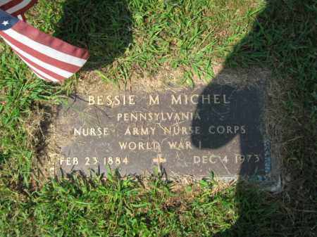 MICHEL, BESSIE M. - Lehigh County, Pennsylvania | BESSIE M. MICHEL - Pennsylvania Gravestone Photos
