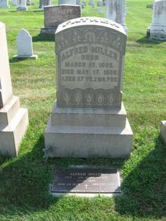 MILLER, ALFRED - Lehigh County, Pennsylvania | ALFRED MILLER - Pennsylvania Gravestone Photos