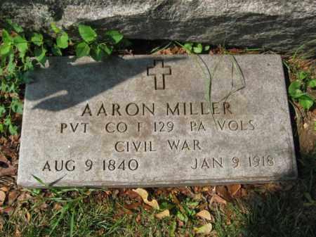 MILLER, AARON - Lehigh County, Pennsylvania | AARON MILLER - Pennsylvania Gravestone Photos