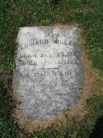 MILLER, EDWARD - Lehigh County, Pennsylvania | EDWARD MILLER - Pennsylvania Gravestone Photos