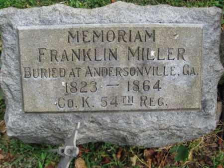 MILLER, FRANKLIN - Lehigh County, Pennsylvania | FRANKLIN MILLER - Pennsylvania Gravestone Photos