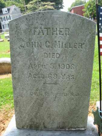 MILLER, JOHN C. - Lehigh County, Pennsylvania | JOHN C. MILLER - Pennsylvania Gravestone Photos