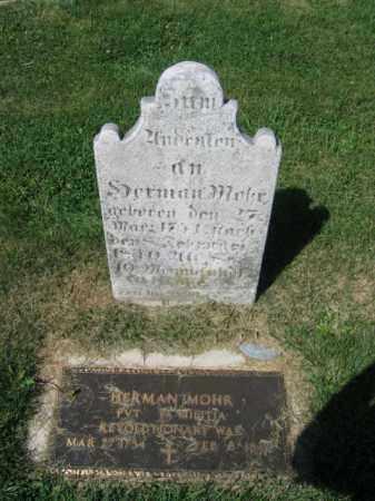 MOHR, HERMAN - Lehigh County, Pennsylvania   HERMAN MOHR - Pennsylvania Gravestone Photos