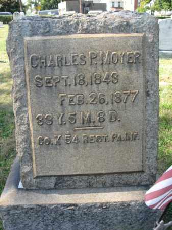 MOYER (CW), CHARLES P. - Lehigh County, Pennsylvania   CHARLES P. MOYER (CW) - Pennsylvania Gravestone Photos