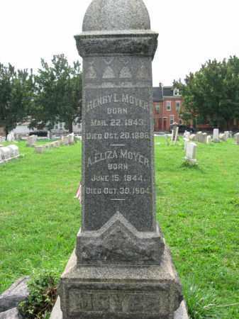 MOYER, HENRY L. - Lehigh County, Pennsylvania   HENRY L. MOYER - Pennsylvania Gravestone Photos