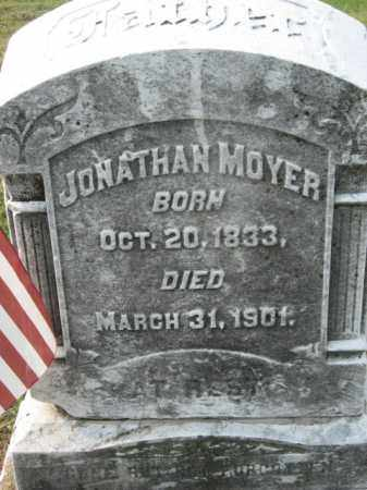 MOYER, JONATHAN - Lehigh County, Pennsylvania | JONATHAN MOYER - Pennsylvania Gravestone Photos