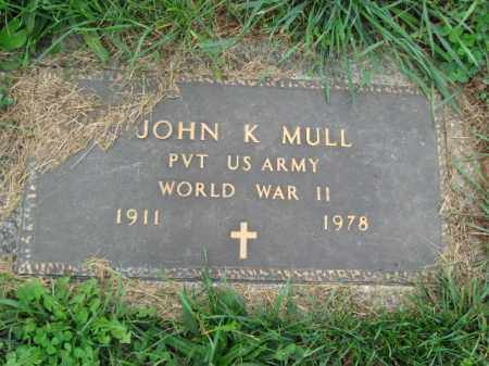 MULL, JOHN K. - Lehigh County, Pennsylvania | JOHN K. MULL - Pennsylvania Gravestone Photos