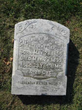 RATTLER MURINGER, CATHERINE - Lehigh County, Pennsylvania | CATHERINE RATTLER MURINGER - Pennsylvania Gravestone Photos