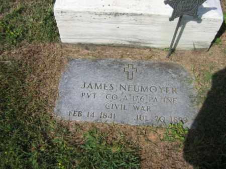 NEUMOYER (NEUMEYER) (CW), JAMES - Lehigh County, Pennsylvania | JAMES NEUMOYER (NEUMEYER) (CW) - Pennsylvania Gravestone Photos