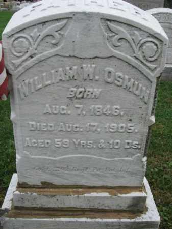OSMUN, WILLIAM W. - Lehigh County, Pennsylvania | WILLIAM W. OSMUN - Pennsylvania Gravestone Photos