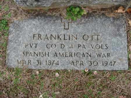 OTT, FRANKLIN - Lehigh County, Pennsylvania   FRANKLIN OTT - Pennsylvania Gravestone Photos