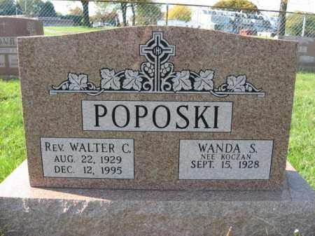 POPOSKI, REV. WALTER C. - Lehigh County, Pennsylvania | REV. WALTER C. POPOSKI - Pennsylvania Gravestone Photos