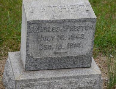 PRESTON (CW), CHARLES J. - Lehigh County, Pennsylvania | CHARLES J. PRESTON (CW) - Pennsylvania Gravestone Photos