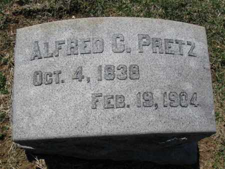 PRETZ (CW), ALFRED C. - Lehigh County, Pennsylvania   ALFRED C. PRETZ (CW) - Pennsylvania Gravestone Photos