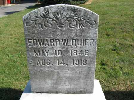 QUIER, EDWARD - Lehigh County, Pennsylvania | EDWARD QUIER - Pennsylvania Gravestone Photos