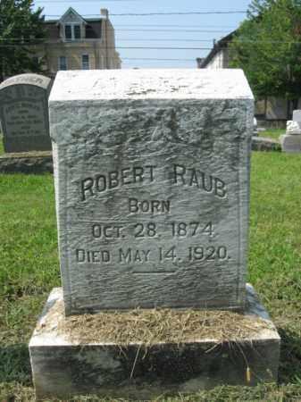 RAUB, ROBERT - Lehigh County, Pennsylvania | ROBERT RAUB - Pennsylvania Gravestone Photos
