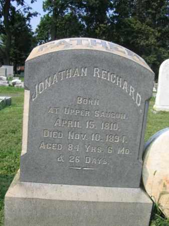 REICHARD, JONATHAN - Lehigh County, Pennsylvania   JONATHAN REICHARD - Pennsylvania Gravestone Photos