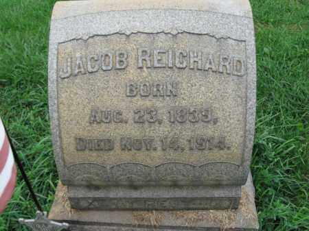 REICHARD, JACOB - Lehigh County, Pennsylvania | JACOB REICHARD - Pennsylvania Gravestone Photos