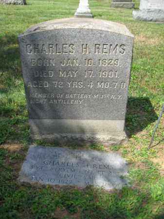 REMS (CW), CHARLES H. - Lehigh County, Pennsylvania | CHARLES H. REMS (CW) - Pennsylvania Gravestone Photos
