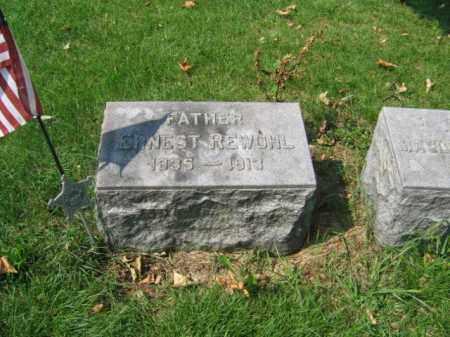 REWOHL, ERNEST - Lehigh County, Pennsylvania | ERNEST REWOHL - Pennsylvania Gravestone Photos