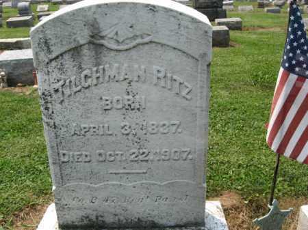 RITZ, TILGHMAN - Lehigh County, Pennsylvania | TILGHMAN RITZ - Pennsylvania Gravestone Photos